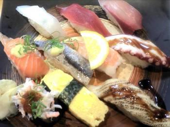 寿司盛り合わせ10貫